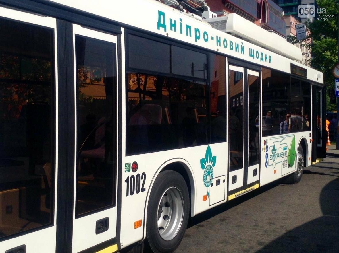 В Днепре троллейбусы с автономным ходом вышли на маршруты (ФОТОРЕПОРТАЖ), фото-3
