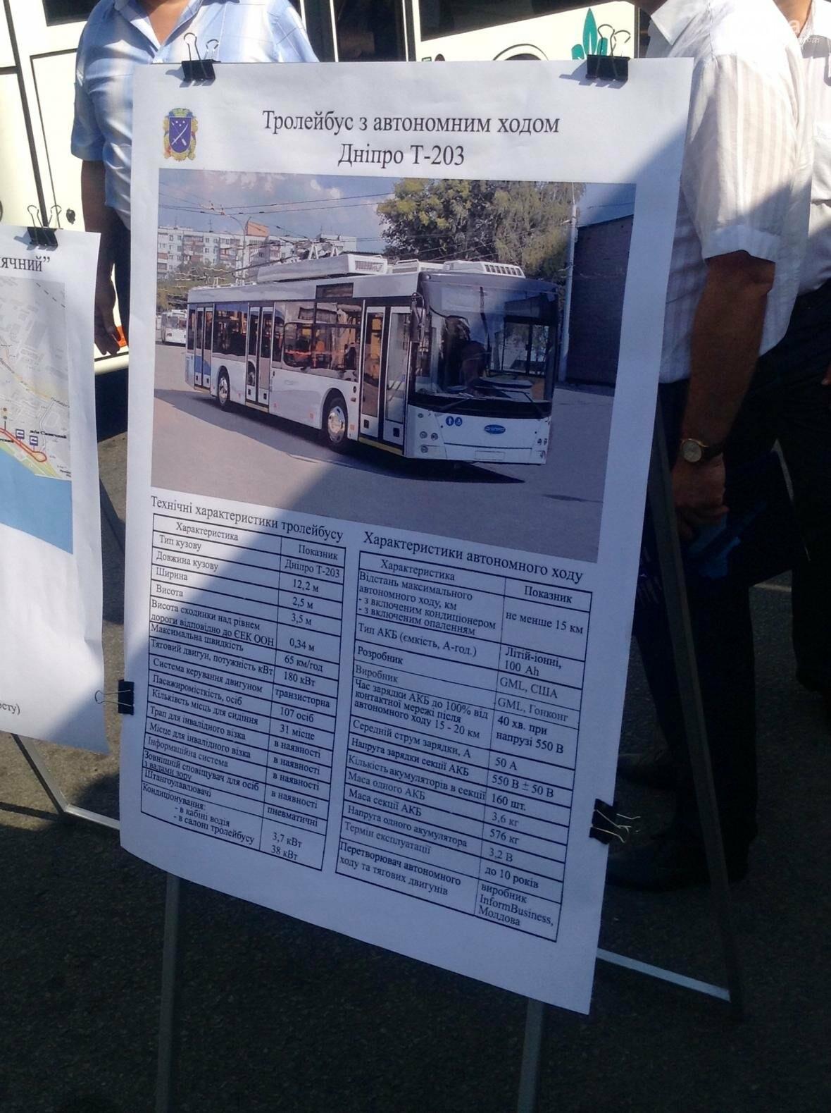В Днепре троллейбусы с автономным ходом вышли на маршруты (ФОТОРЕПОРТАЖ), фото-1