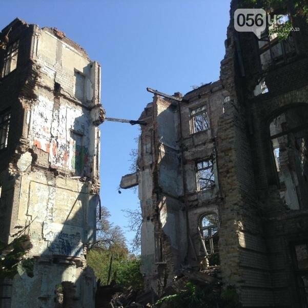 Больница Красного Креста в Днепре: от безнадежных пациентов до руин (ФОТОРЕПОРТАЖ), фото-11