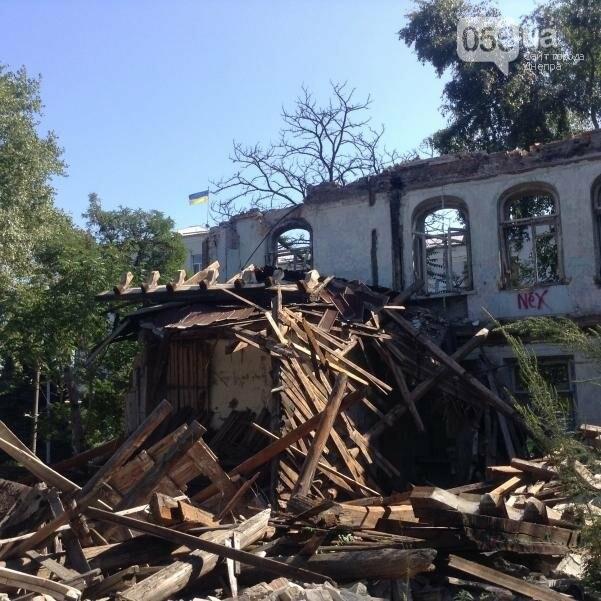 Больница Красного Креста в Днепре: от безнадежных пациентов до руин (ФОТОРЕПОРТАЖ), фото-24