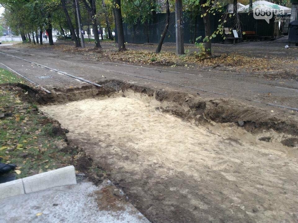 В Днепре начался капитальный ремонт колеи главного трамвайного маршрута (ФОТО, ВИДЕО) , фото-6