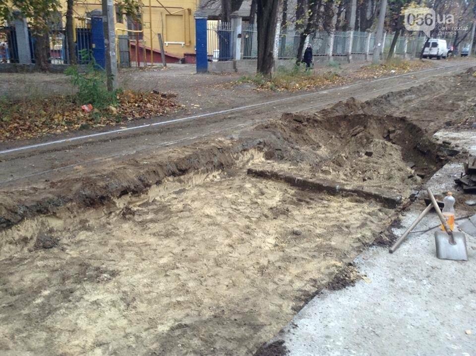 В Днепре начался капитальный ремонт колеи главного трамвайного маршрута (ФОТО, ВИДЕО) , фото-5