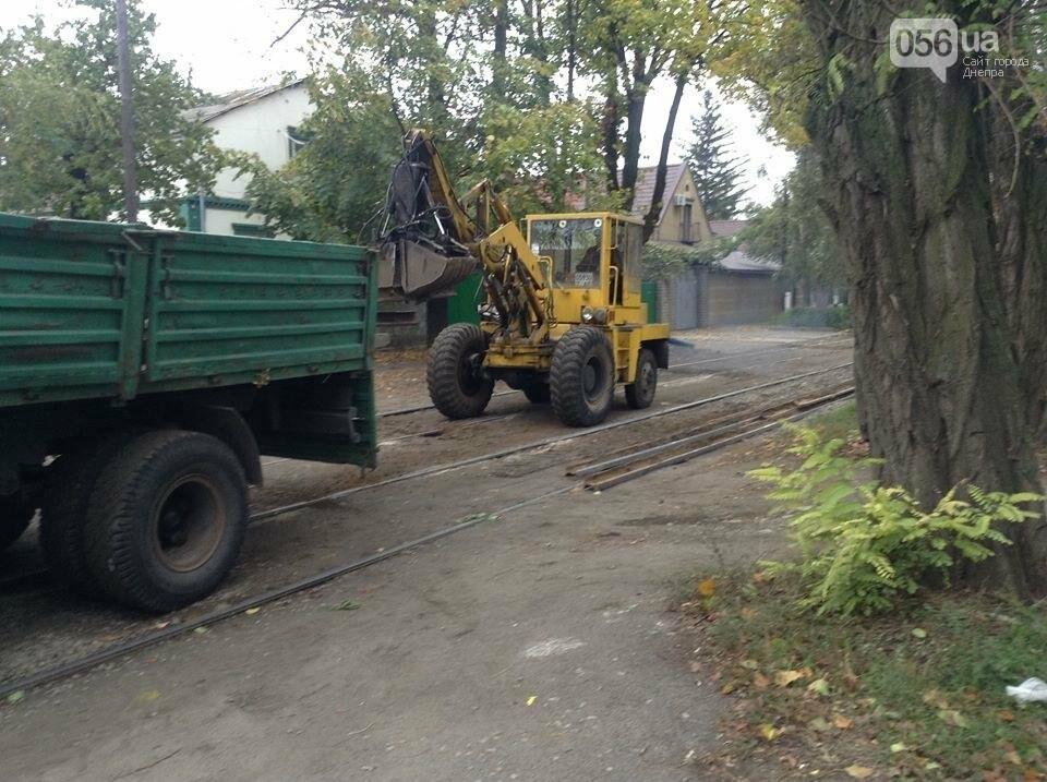 В Днепре начался капитальный ремонт колеи главного трамвайного маршрута (ФОТО, ВИДЕО) , фото-2