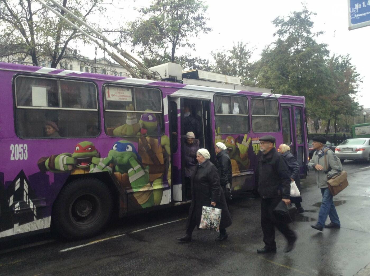 В Днепре курсирует «черепаший» троллейбус (ФОТОФАКТ) , фото-1