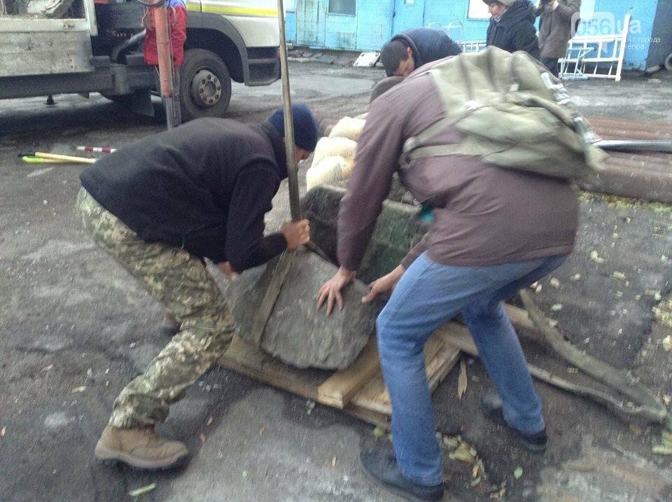 Днепровские археологи нашли древние скифские стелы и жертвенник (ВИДЕО), фото-5