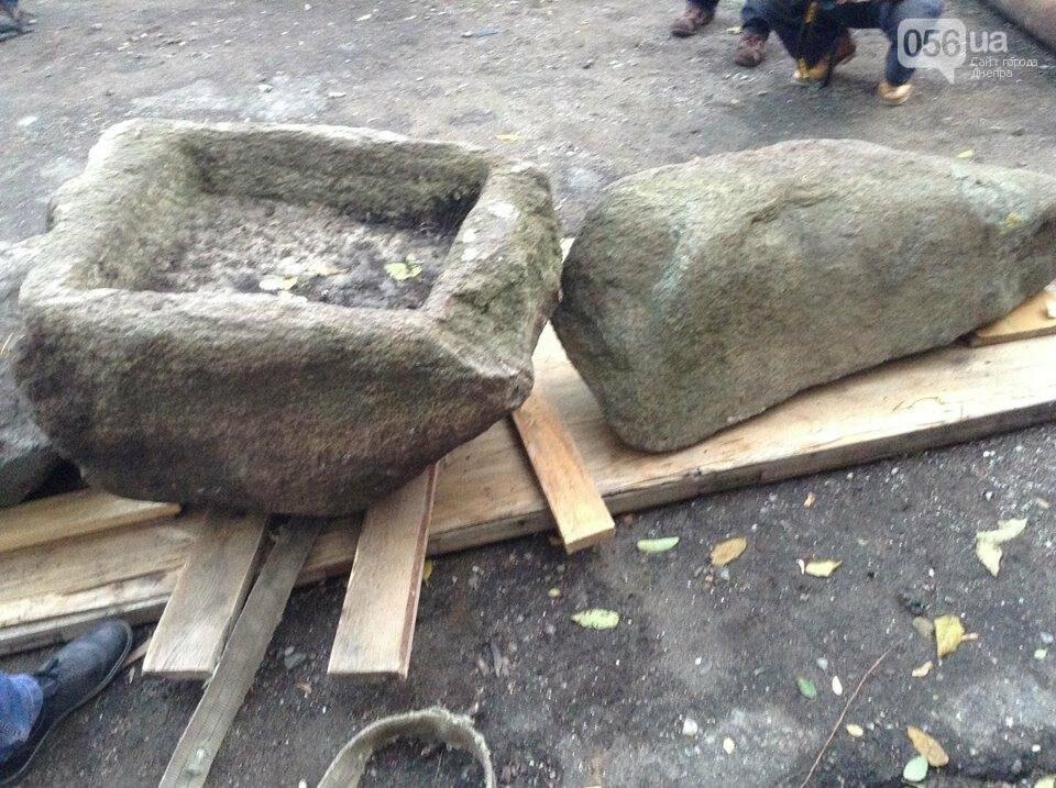 Днепровские археологи нашли древние скифские стелы и жертвенник (ВИДЕО), фото-4