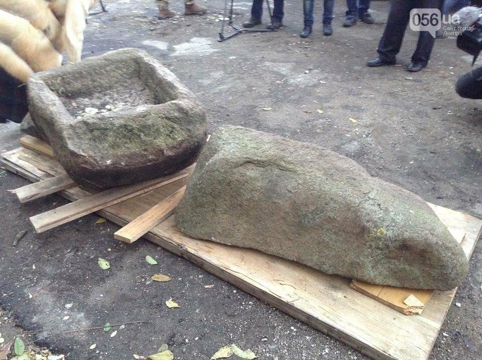 Днепровские археологи нашли древние скифские стелы и жертвенник (ВИДЕО), фото-3