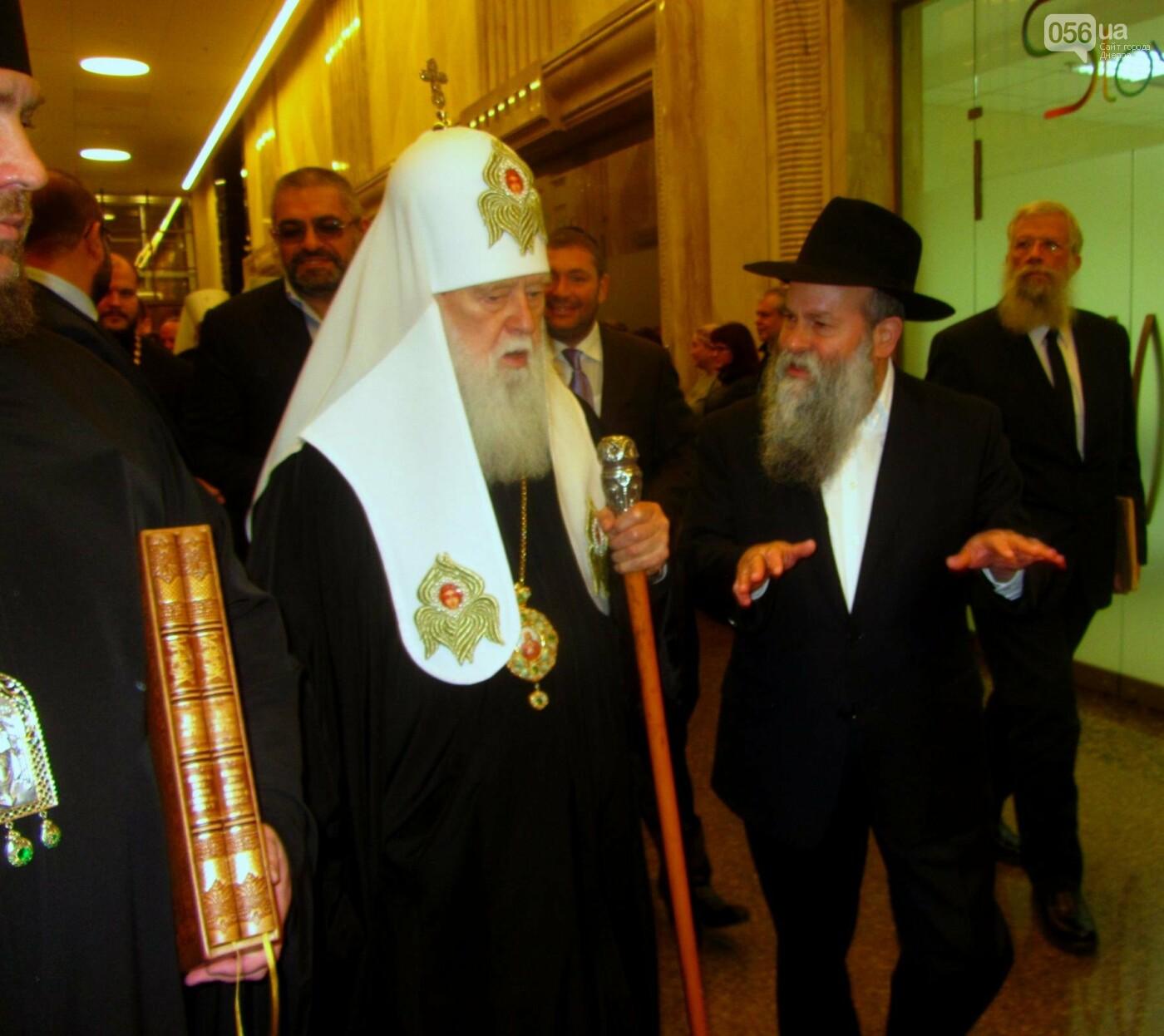Патриарх Филарет в Днепре: об агрессии, коррупции и межконфессиональном диалоге (ФОТО), фото-6