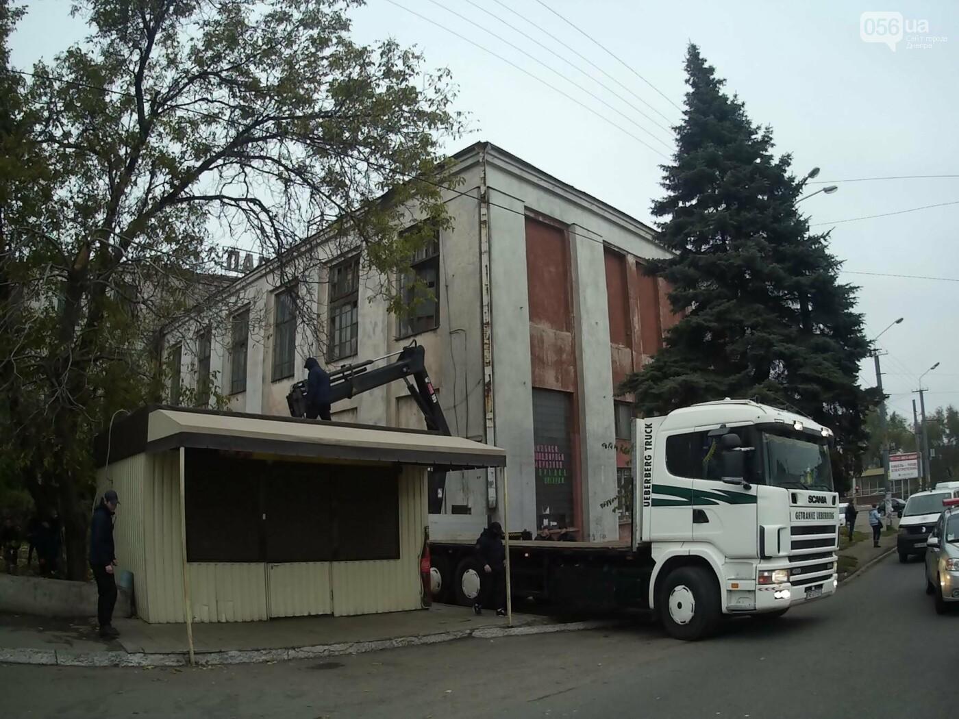 На пр. Нигояна коммунальщики снесли «наливайку» (ФОТО, ВИДЕО), фото-3