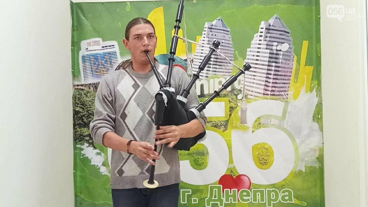 Днепровский музыкант-волынщик Егор Краюшин: «Волынку выиграл у отца» , фото-2
