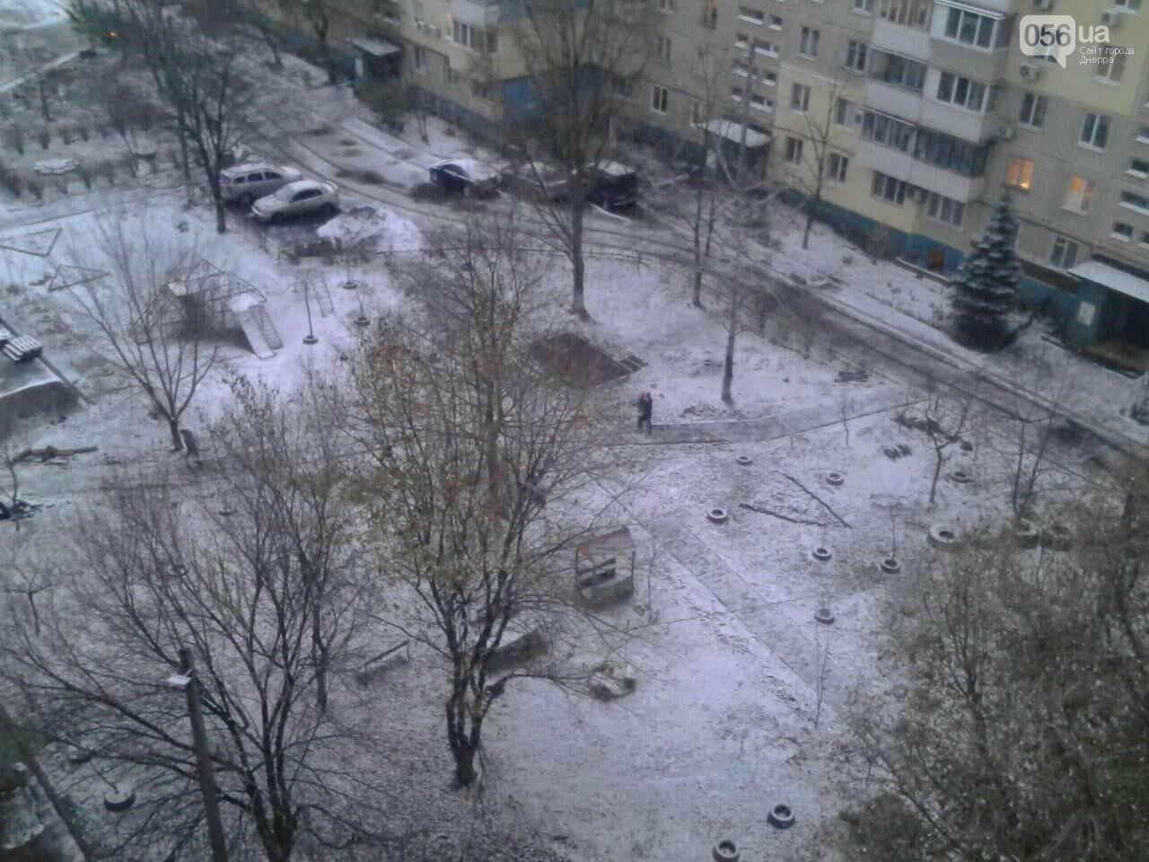В Днепр пришла зима: выпал первый снег (ФОТО, ВИДЕО), фото-5