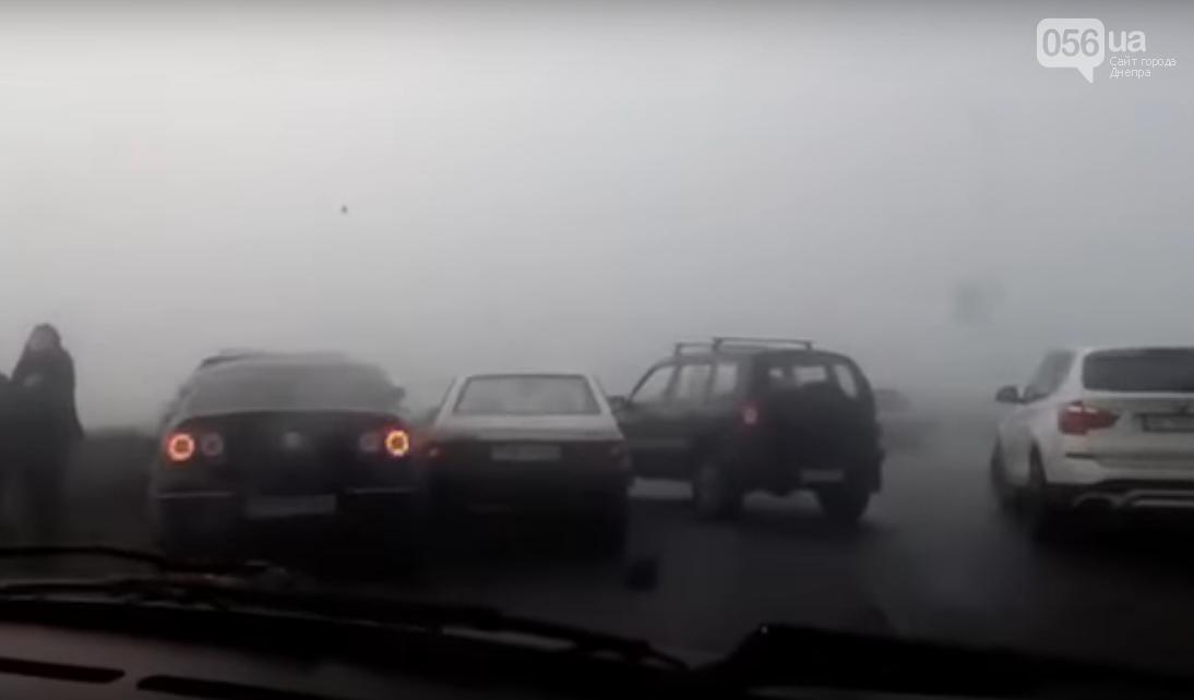 Масштабное ДТП в Каменском: столкнулись 9 машин (ВИДЕО, ФОТО) , фото-2