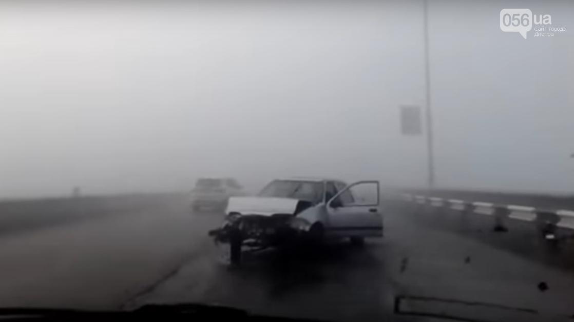Масштабное ДТП в Каменском: столкнулись 9 машин (ВИДЕО, ФОТО) , фото-3