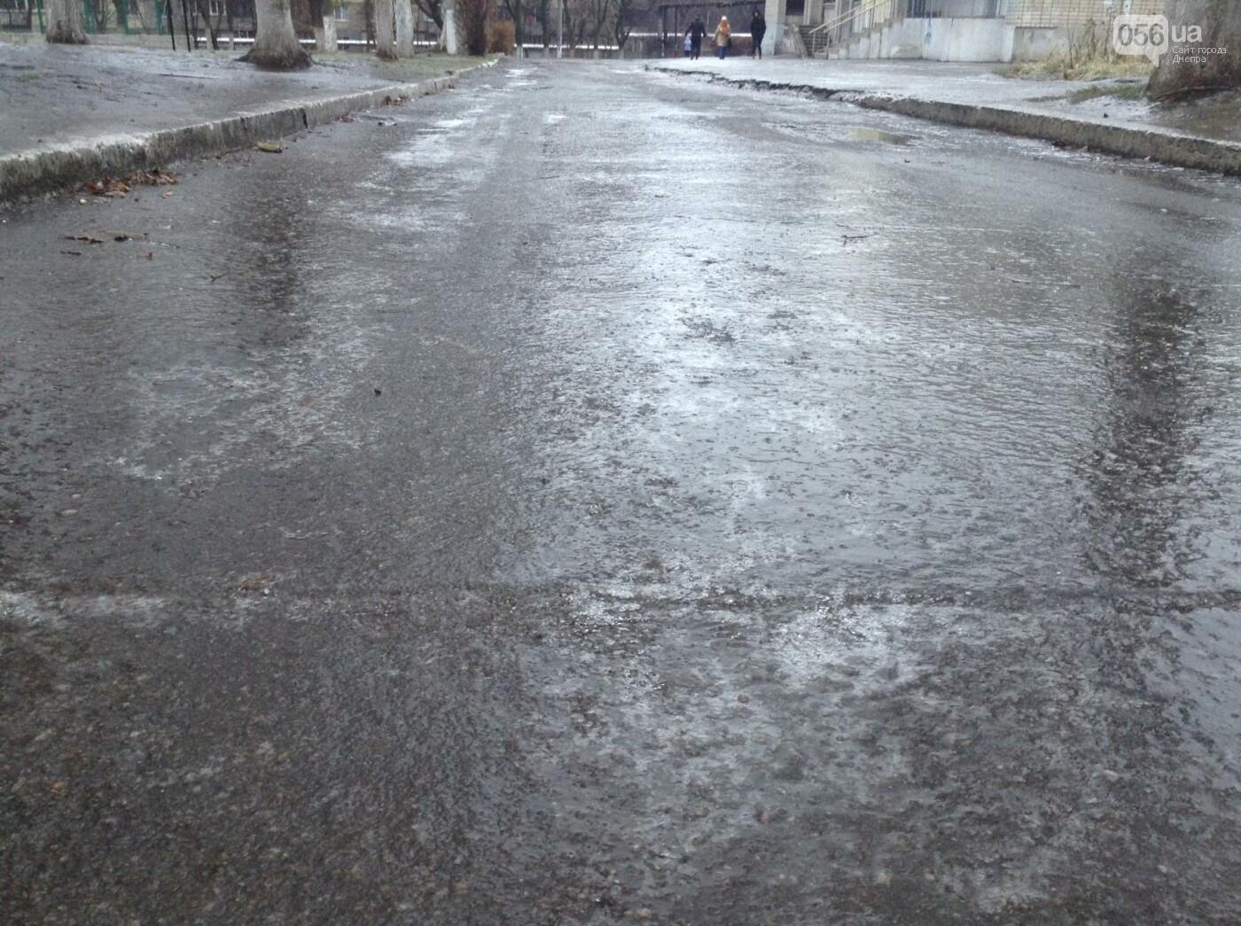 Днепр за ночь превратился в город-каток (ФОТО), фото-2
