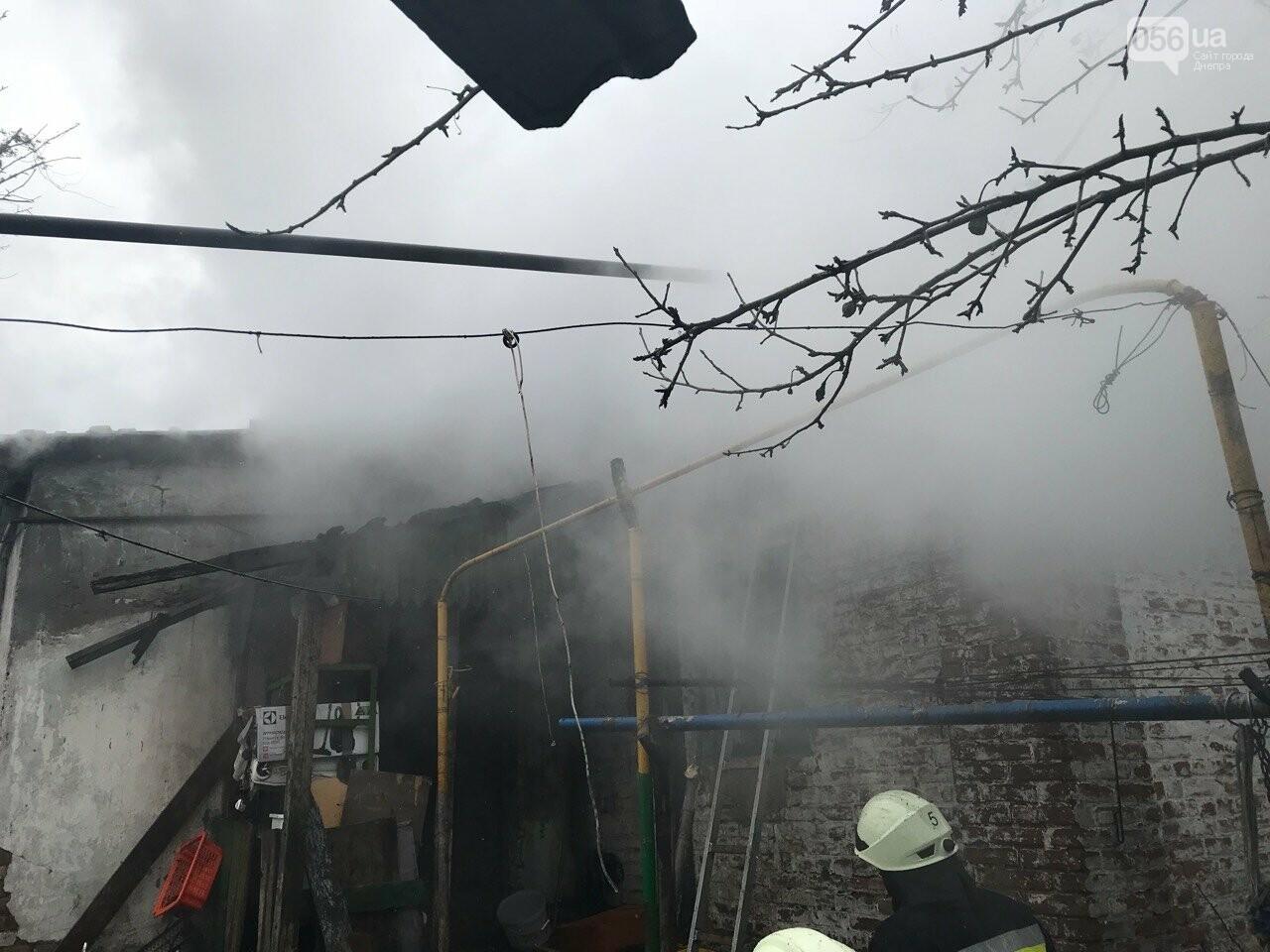 В Днепре в частном секторе сгорел дом (ФОТО) , фото-2