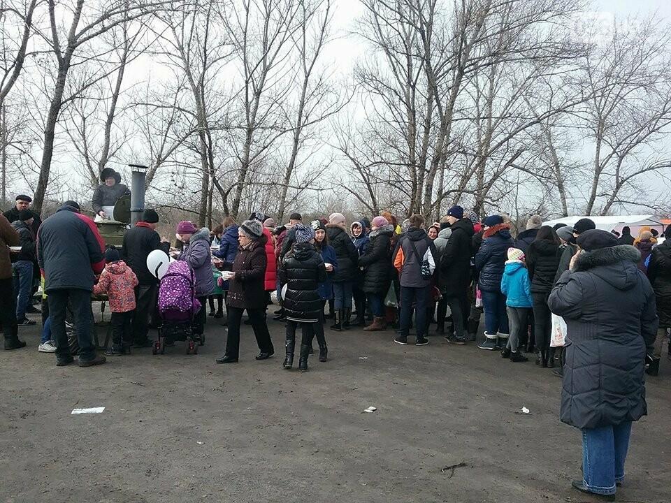 В Днепре на жилмассиве Фрунзенский провели Масленицу (ФОТО, ВИДЕО) , фото-2