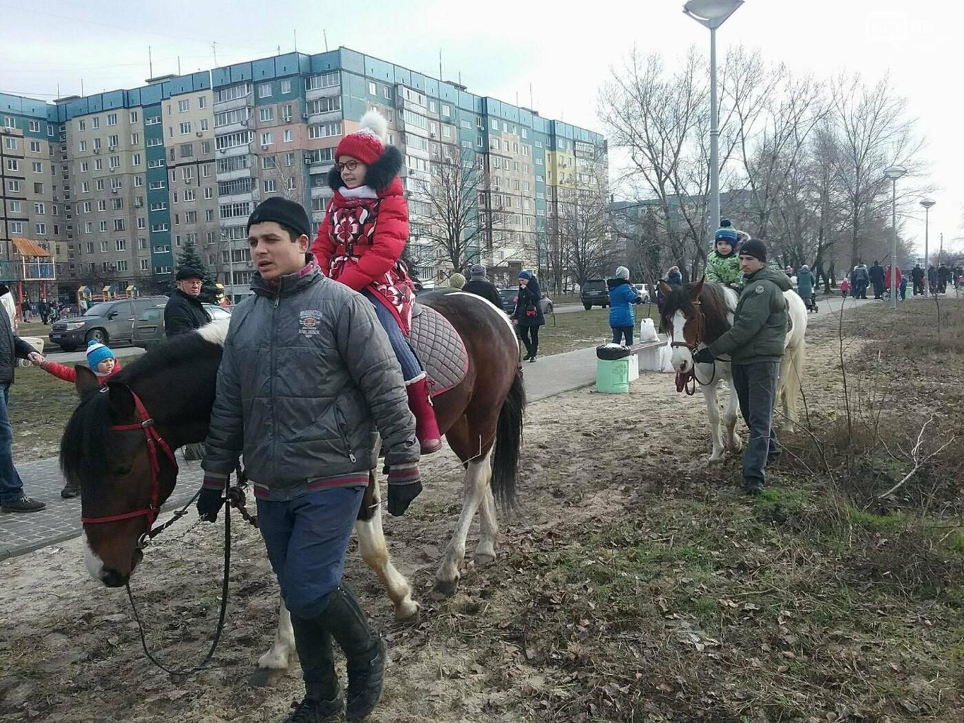 В Днепре на жилмассиве Фрунзенский провели Масленицу (ФОТО, ВИДЕО) , фото-7