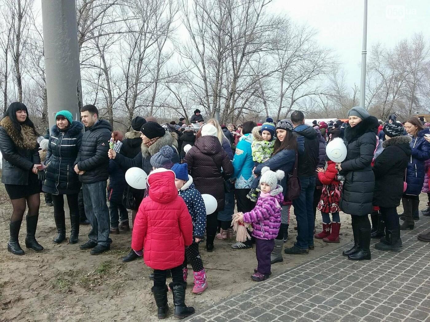 В Днепре на жилмассиве Фрунзенский провели Масленицу (ФОТО, ВИДЕО) , фото-3