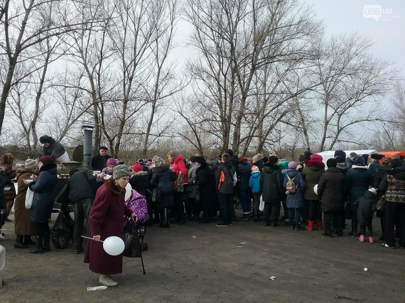 В Днепре на жилмассиве Фрунзенский провели Масленицу (ФОТО, ВИДЕО) , фото-11