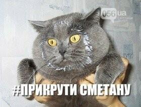 Реакция украинских соцсетей на флешмоб по экономии газа #прикрути: лучшие фотожабы, фото-8