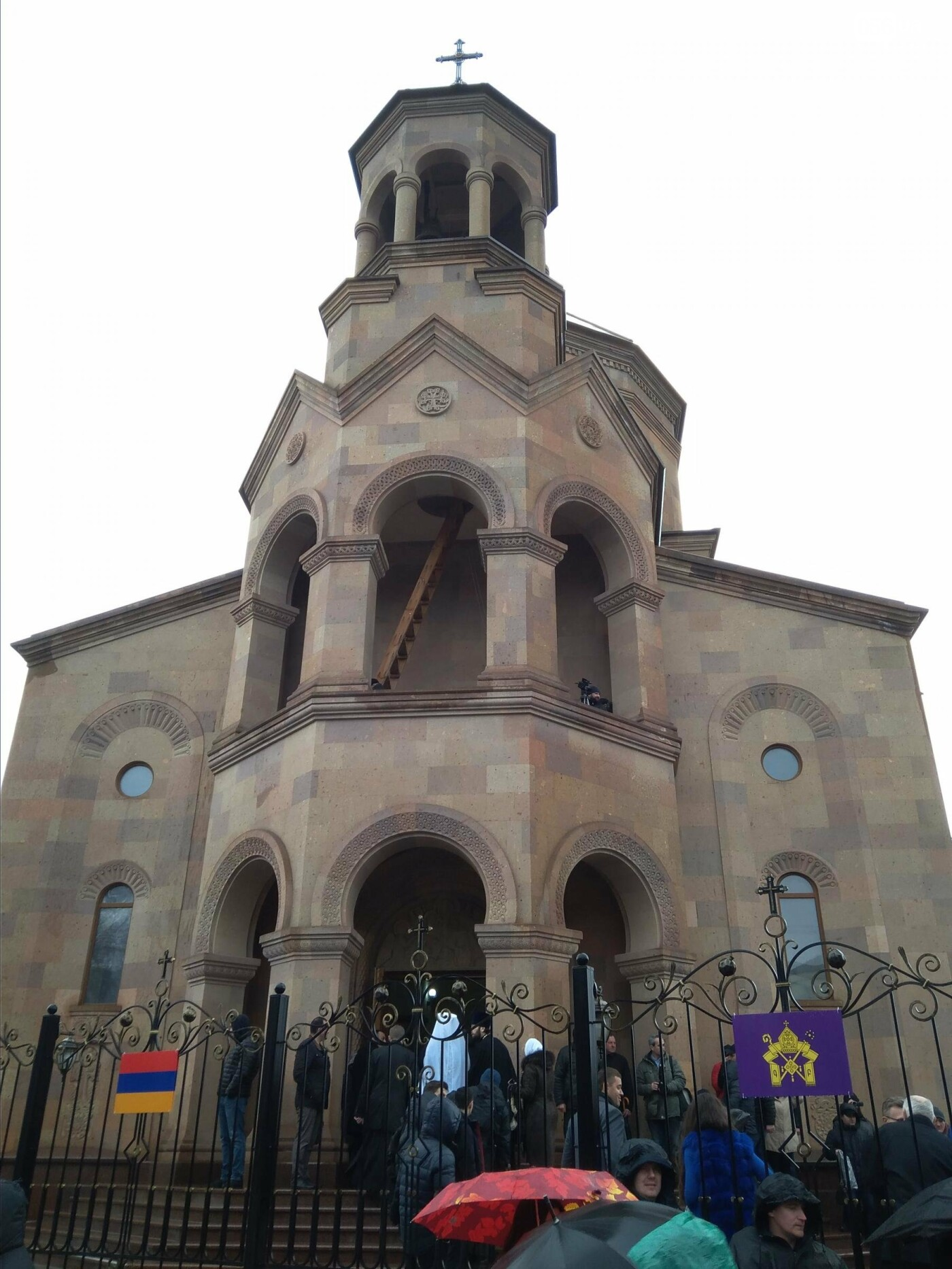 В Днепре глава Всемирного совета церквей Гарегин ІІ открыл храм Армянской Апостольской Церкви (ФОТО, ВИДЕО), фото-6