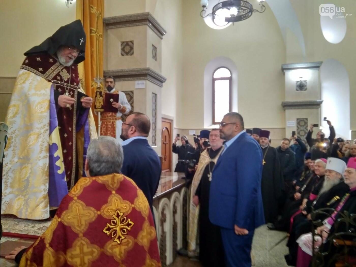 В Днепре глава Всемирного совета церквей Гарегин ІІ открыл храм Армянской Апостольской Церкви (ФОТО, ВИДЕО), фото-11