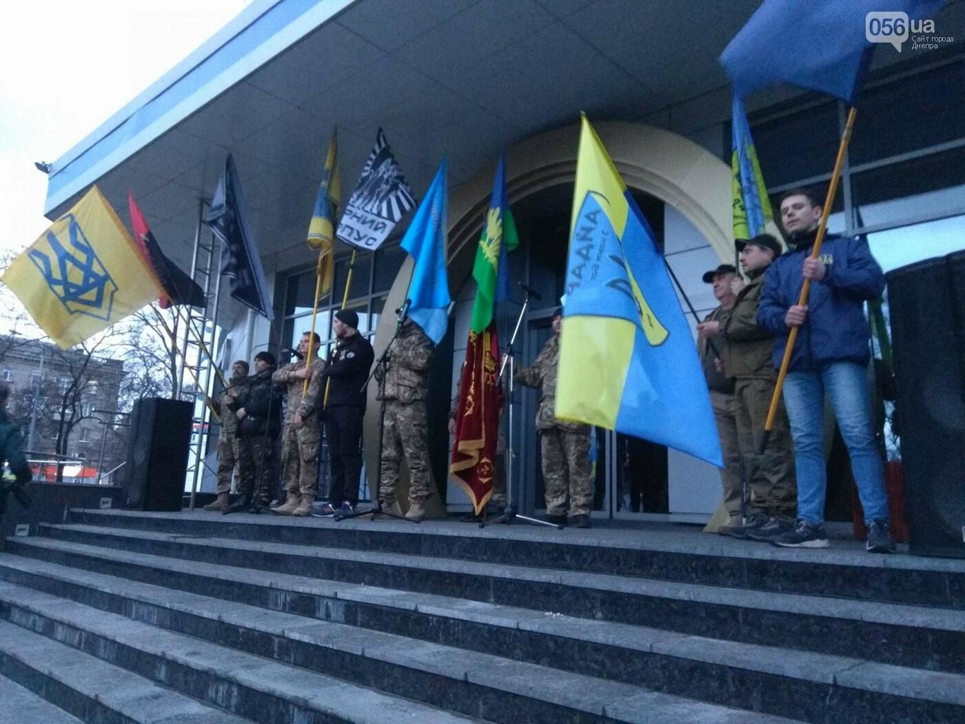 В центре Днепра прошла колонна добровольцев АТО (ФОТО, ВИДЕО), фото-8