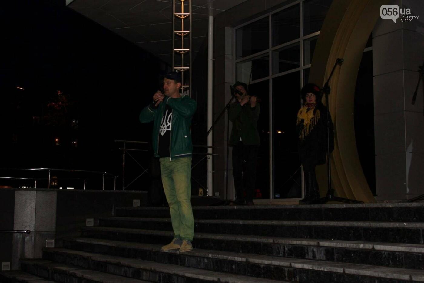 В центре Днепра прошла колонна добровольцев АТО (ФОТО, ВИДЕО), фото-12