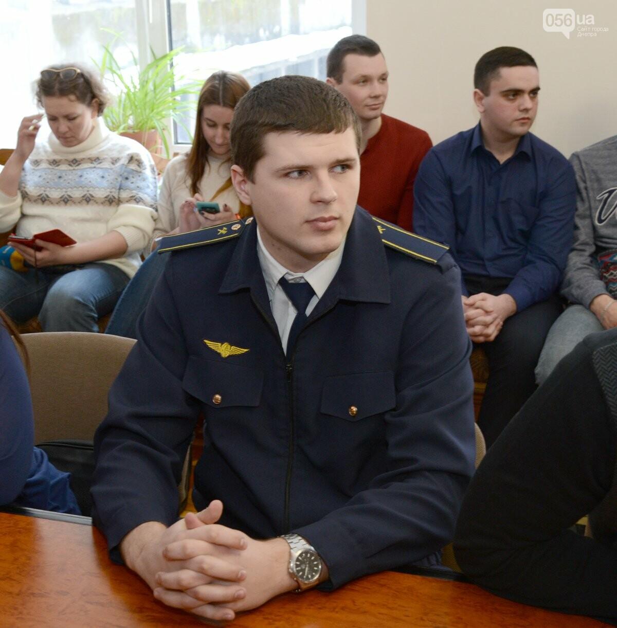 Борис Колесников и студенты из Днипра провели встречу в рамках конкурса «Железнодорожник», фото-2