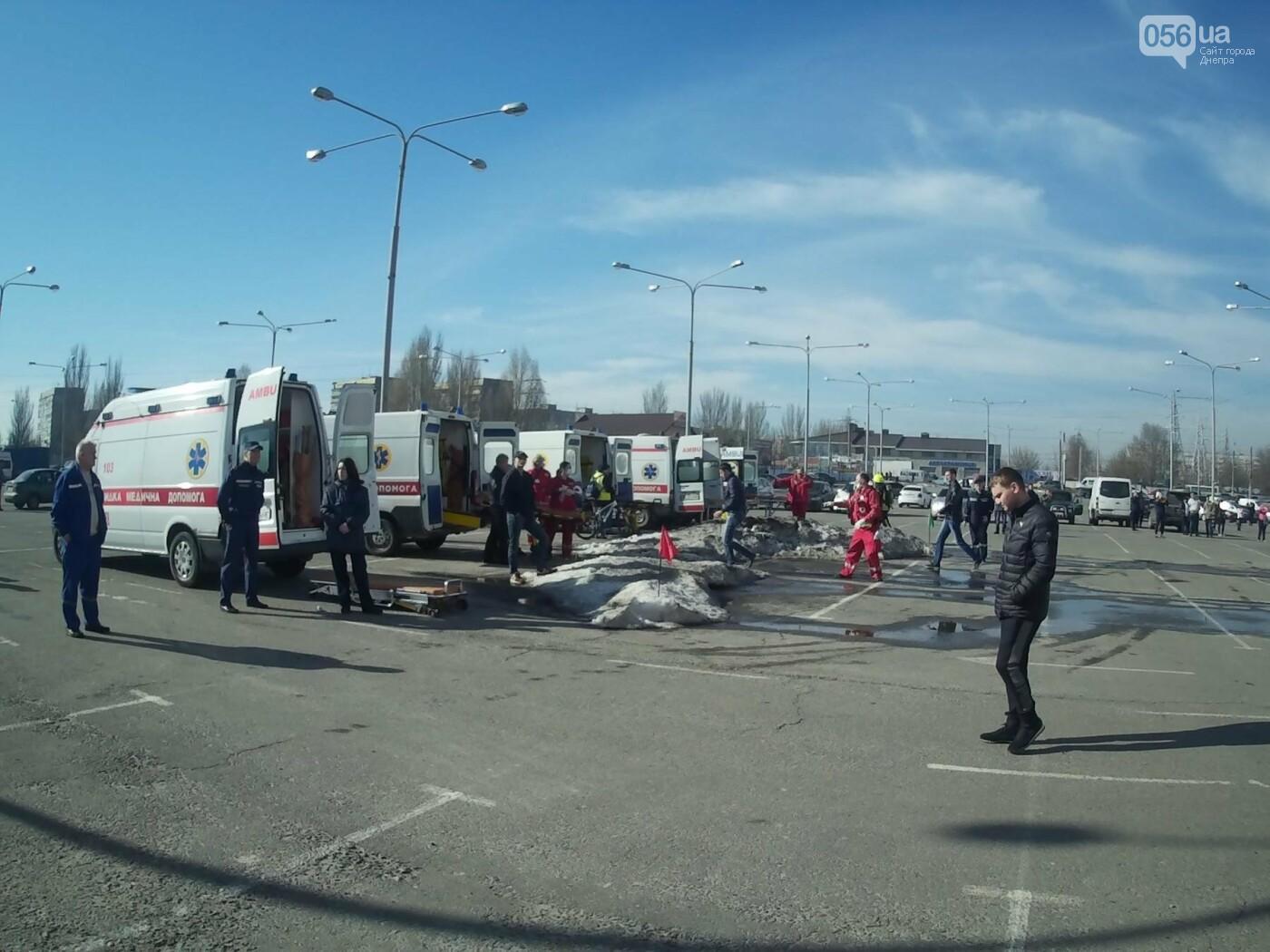 В Днепре спасатели эвакуировали персонал и посетителей из «Каравана» (ФОТО, ВИДЕО), фото-9