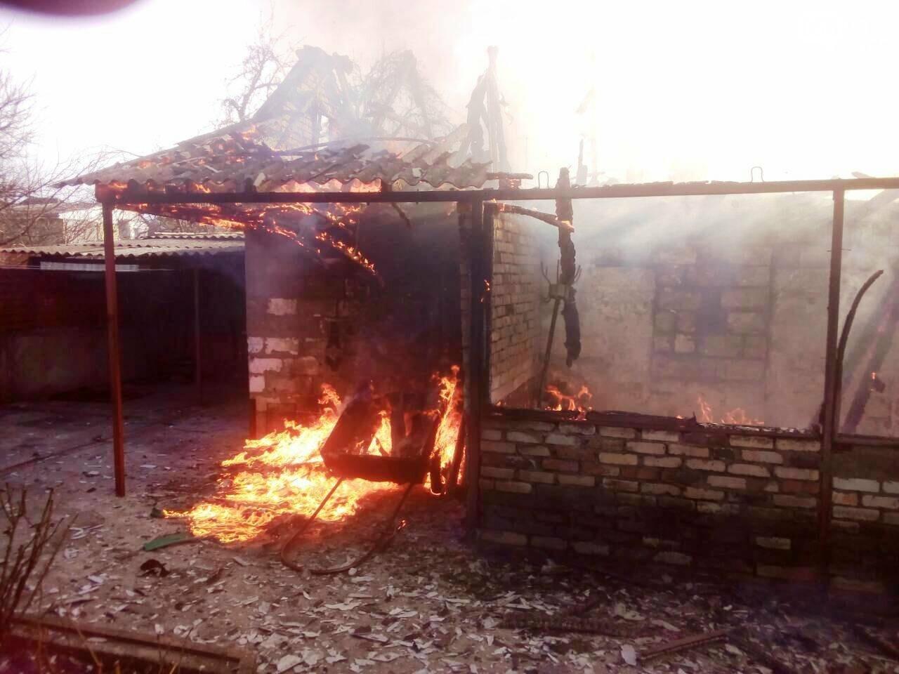 В Днепре на пожаре сгорел мужчина (ФОТО), фото-1