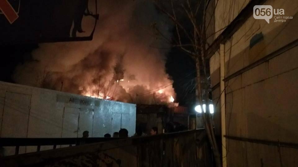 В Днепре из-за масштабного пожара Набережную окутал густой дым  (ФОТО, ВИДЕО), фото-2