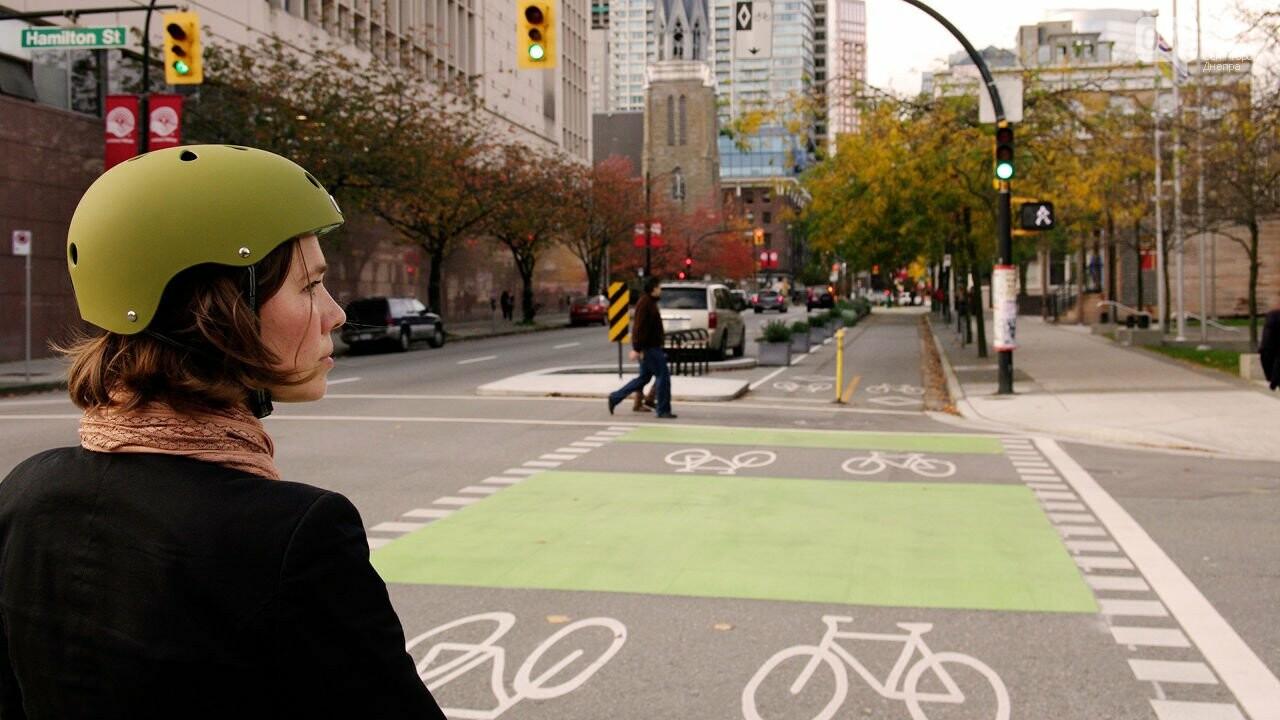 Как развита велосипедная инфраструктура в Днепре, если сравнивать с Европой, - ФОТО, фото-3