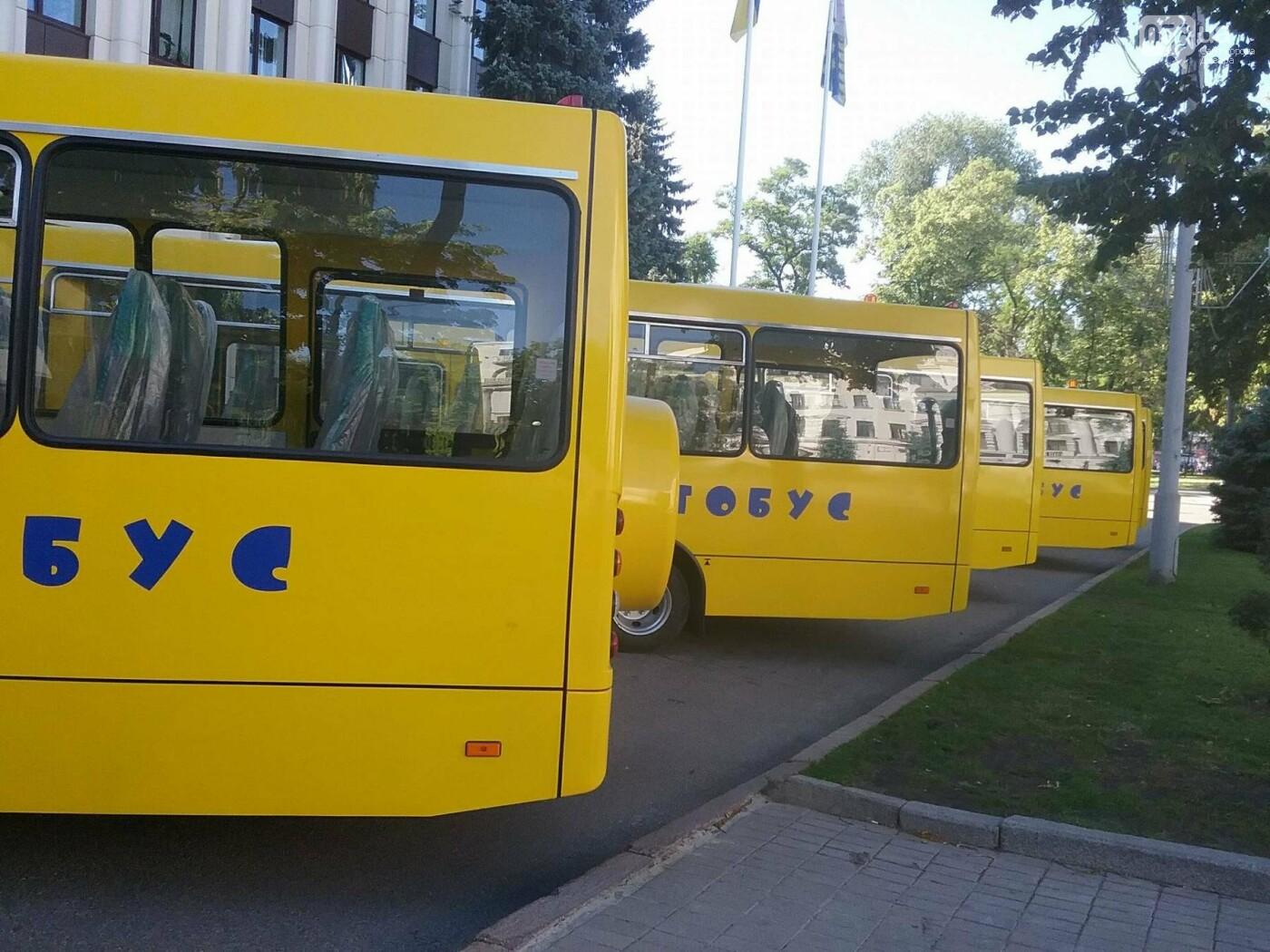 В Днепре представили новые автобусы для областных школ, - ФОТО, фото-2