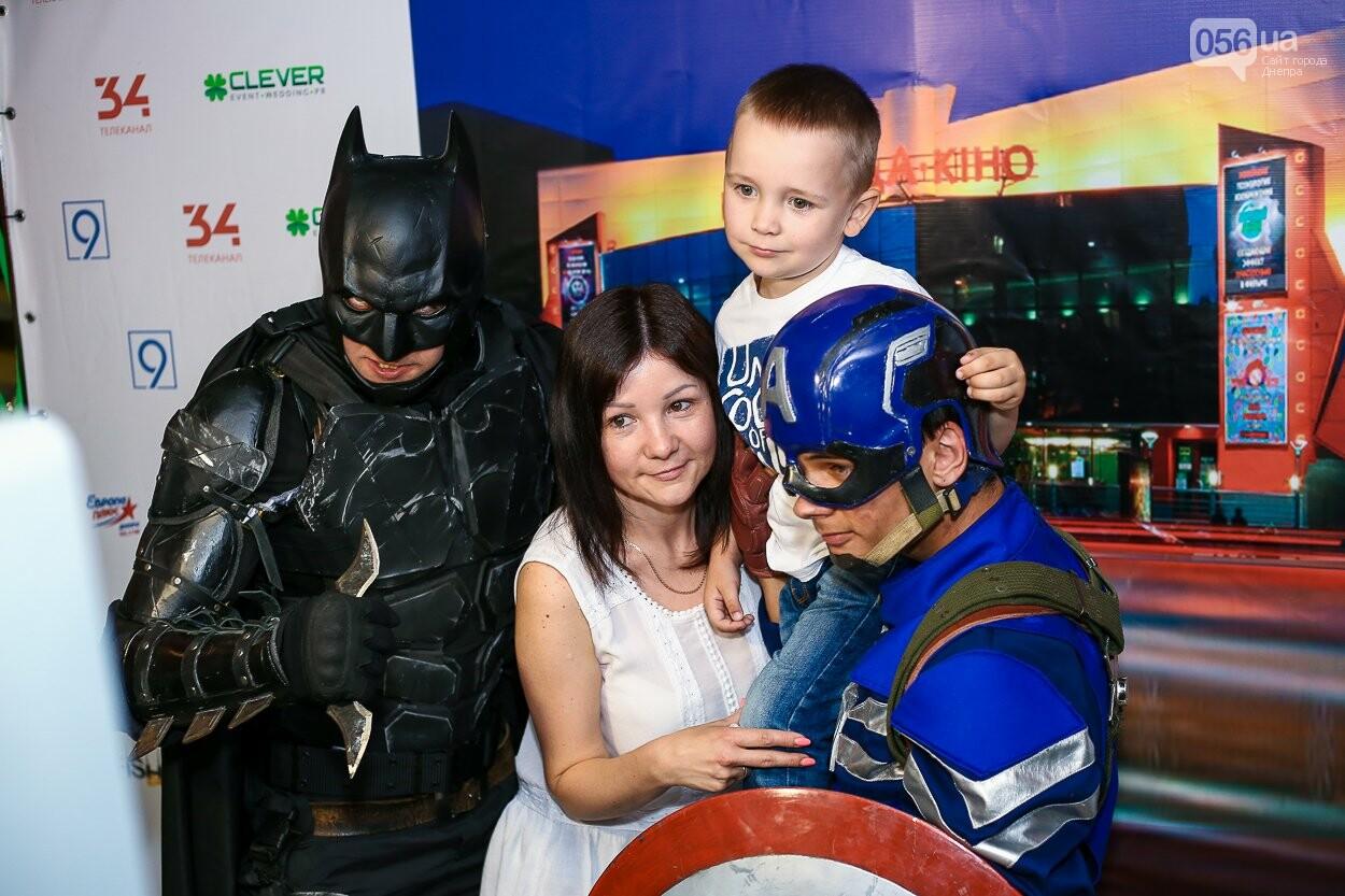 Супергерои, красная дорожка и концерт: как в Днепре открывали кинотеатр «Правда», - ФОТО, фото-18