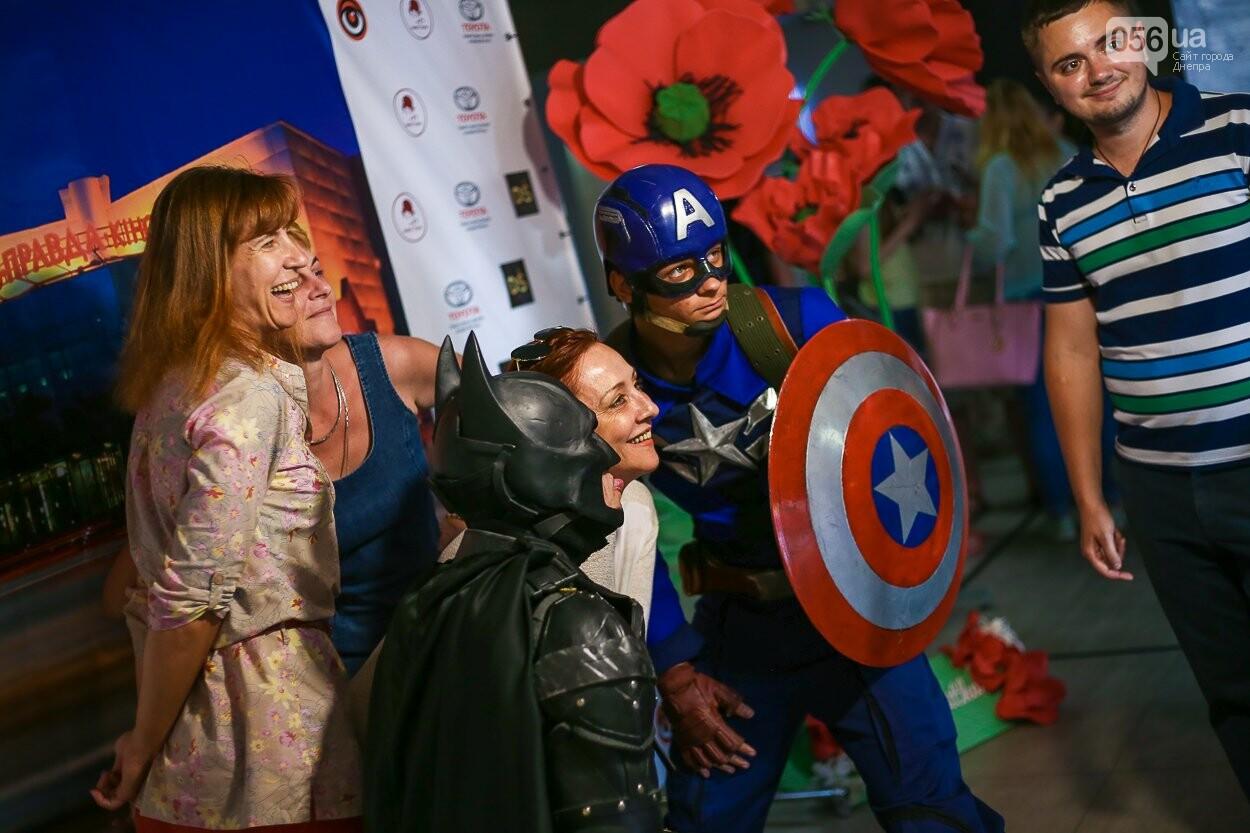 Супергерои, красная дорожка и концерт: как в Днепре открывали кинотеатр «Правда», - ФОТО, фото-15