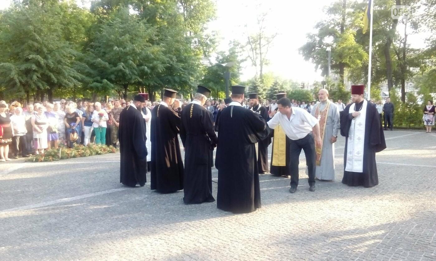 В Днепре почтили память военных погибших в сбитом над Луганском самолете ИЛ-76, - ФОТО, ВИДЕО, фото-8