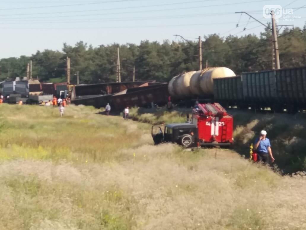 В Днепре на ж/м Северный крупная авария: поезд сошел с рельсов, - ФОТО, ВИДЕО, фото-5