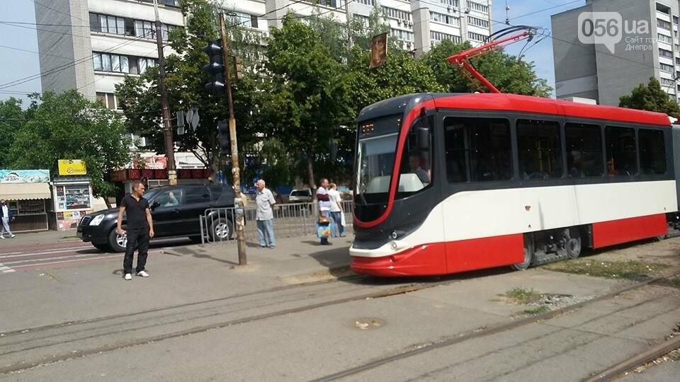 В Днепре проводят испытания трамвая для европейской колеи, - ФОТО, фото-1