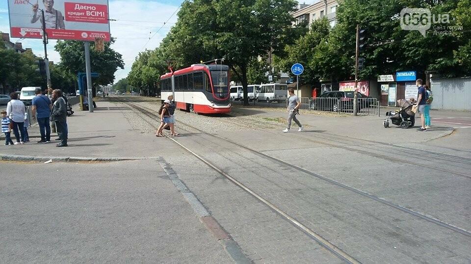 В Днепре проводят испытания трамвая для европейской колеи, - ФОТО, фото-2