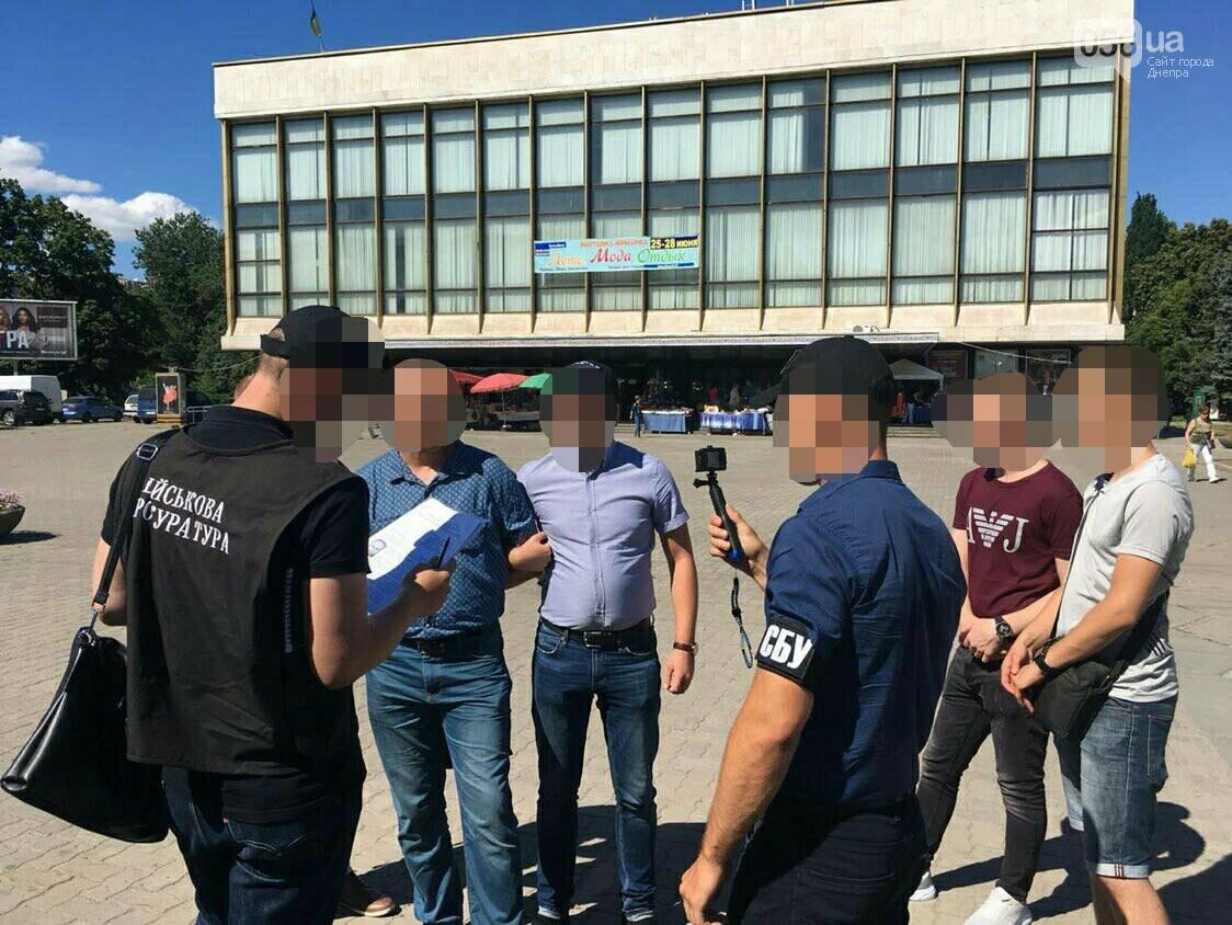 В центре Днепра на взятке задержали капитана Пограничной службы, - ФОТО, фото-1