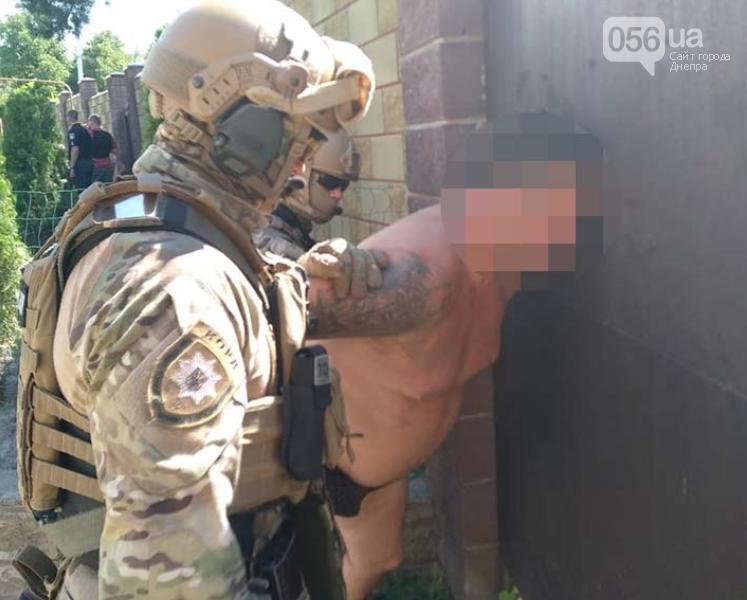 В Днепре спецназ задержал мужчину, который выстрелил девушке в лицо, - ФОТО, ВИДЕО, фото-1