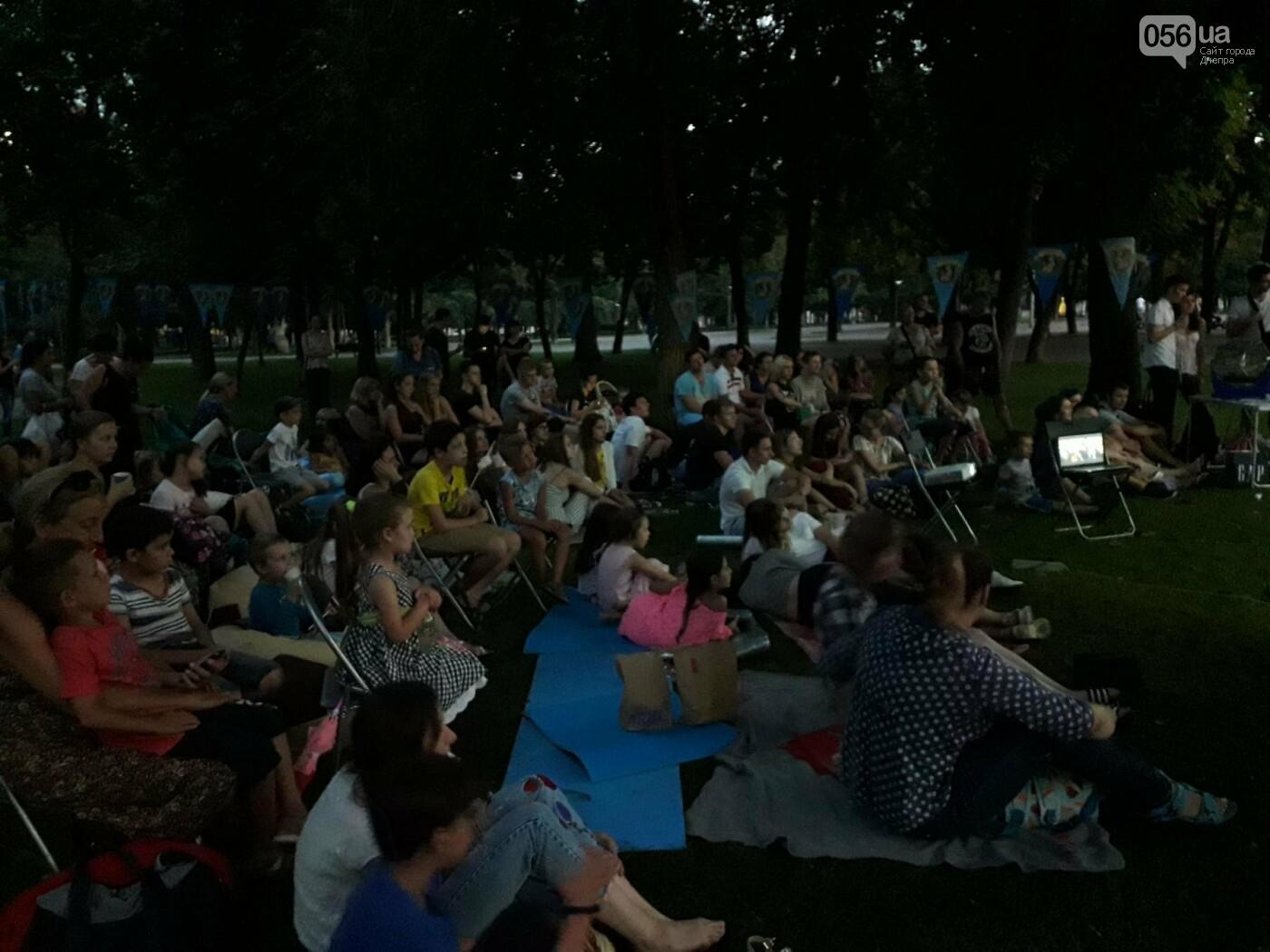 В Днепре прошел юбилейный кинопоказ под открытым небом,  - ФОТО, фото-3