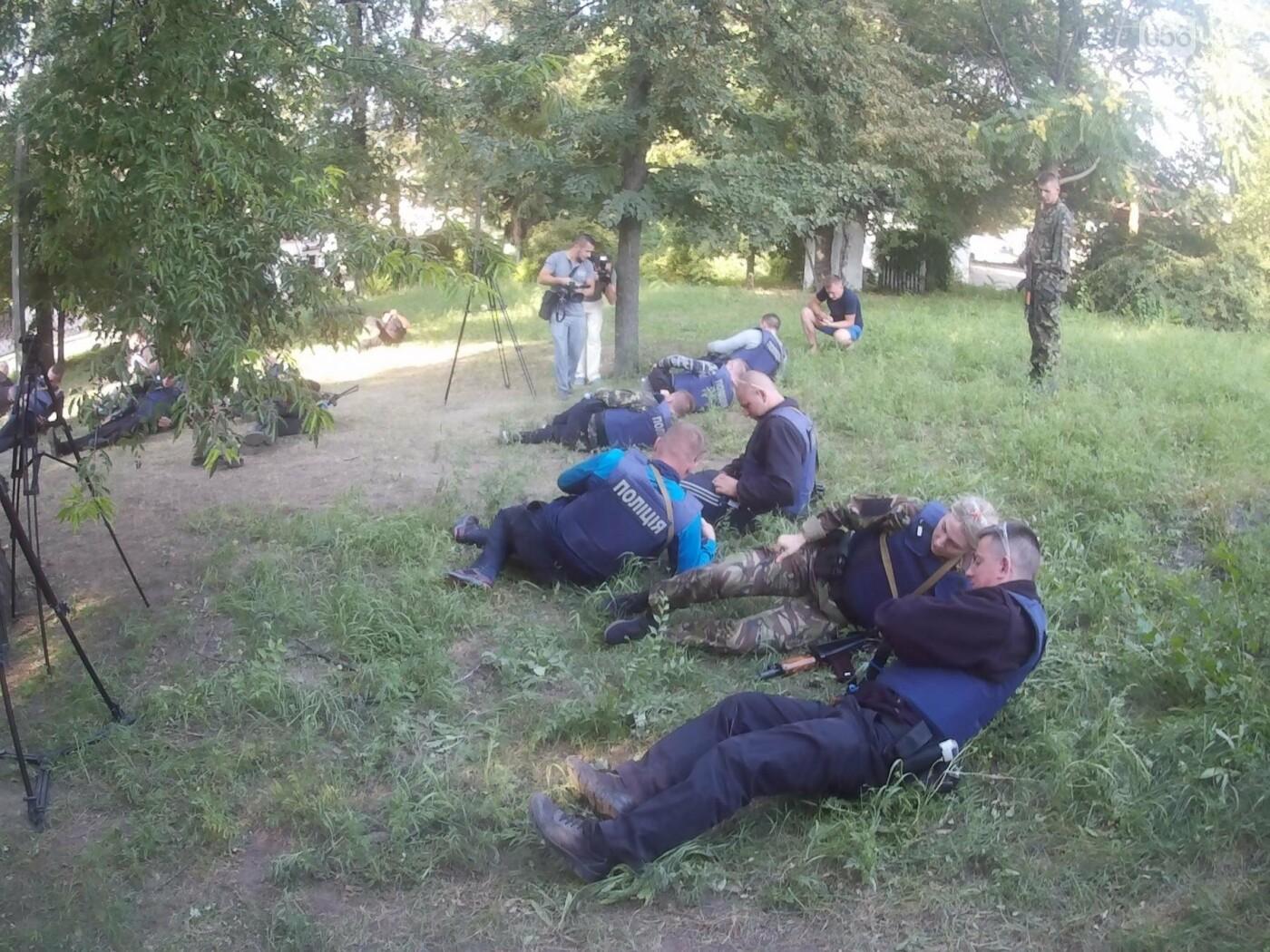 В Днепре проходят тактические учения для патрульных полицейских Луганской области, - ФОТО, ВИДЕО, фото-5