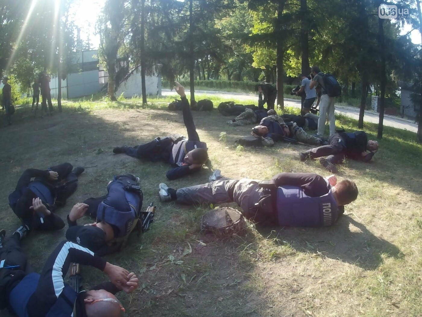 В Днепре проходят тактические учения для патрульных полицейских Луганской области, - ФОТО, ВИДЕО, фото-2