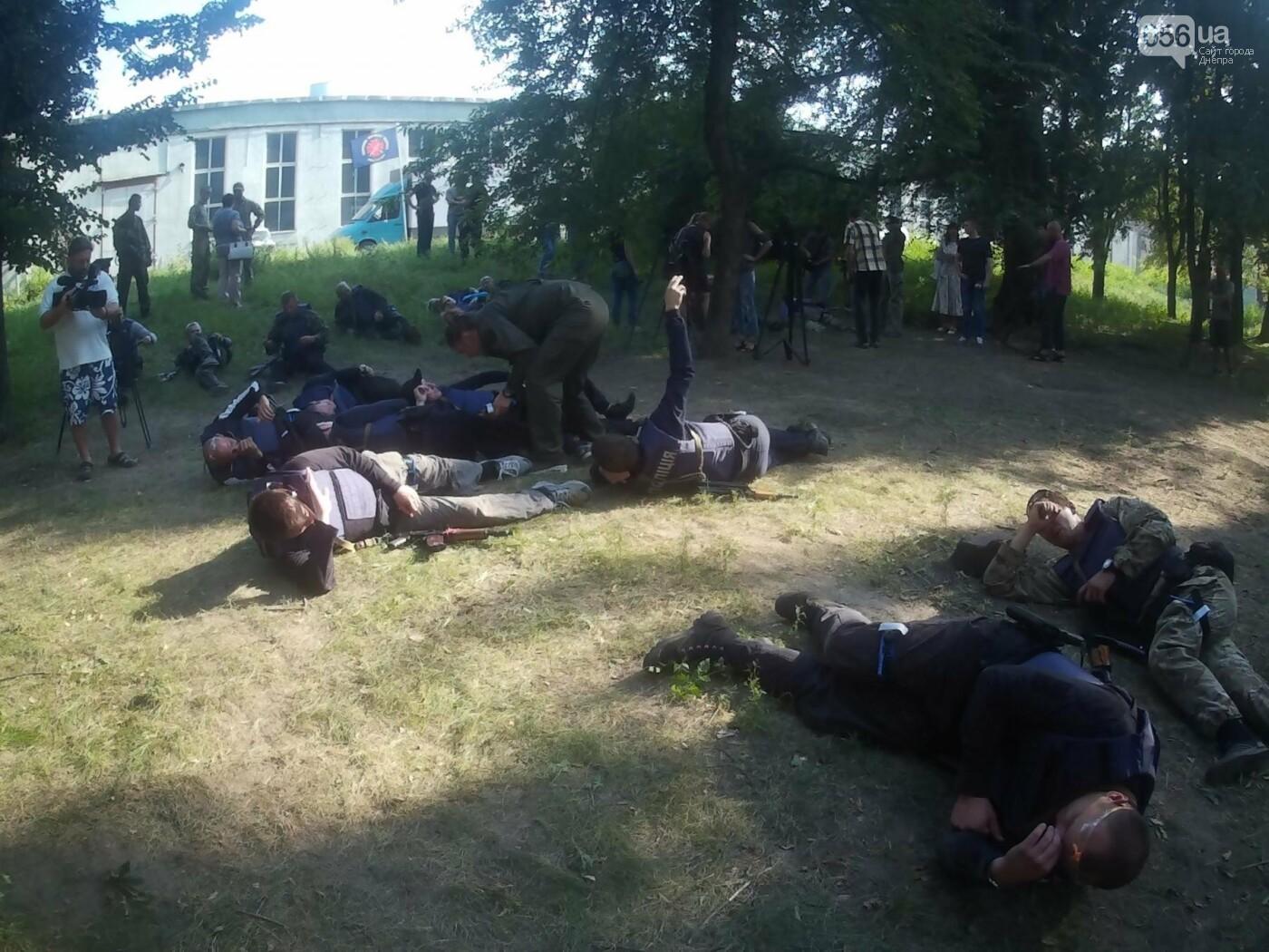 В Днепре проходят тактические учения для патрульных полицейских Луганской области, - ФОТО, ВИДЕО, фото-3