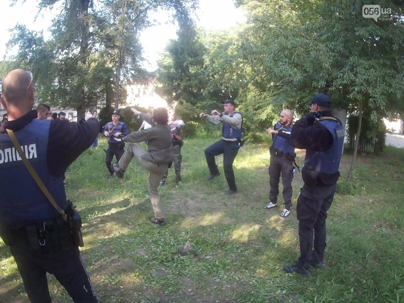 В Днепре проходят тактические учения для патрульных полицейских Луганской области, - ФОТО, ВИДЕО, фото-7