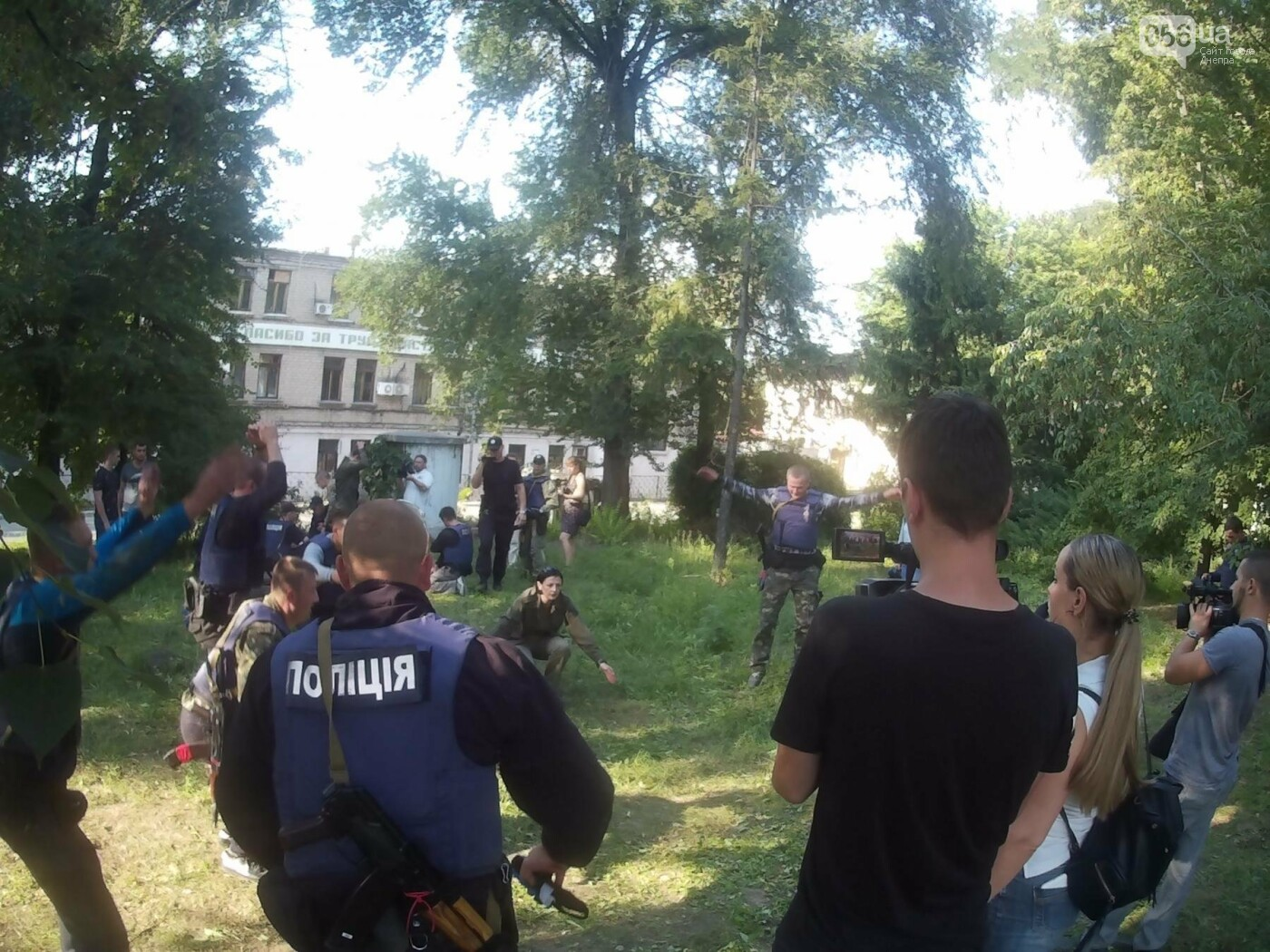 В Днепре проходят тактические учения для патрульных полицейских Луганской области, - ФОТО, ВИДЕО, фото-9