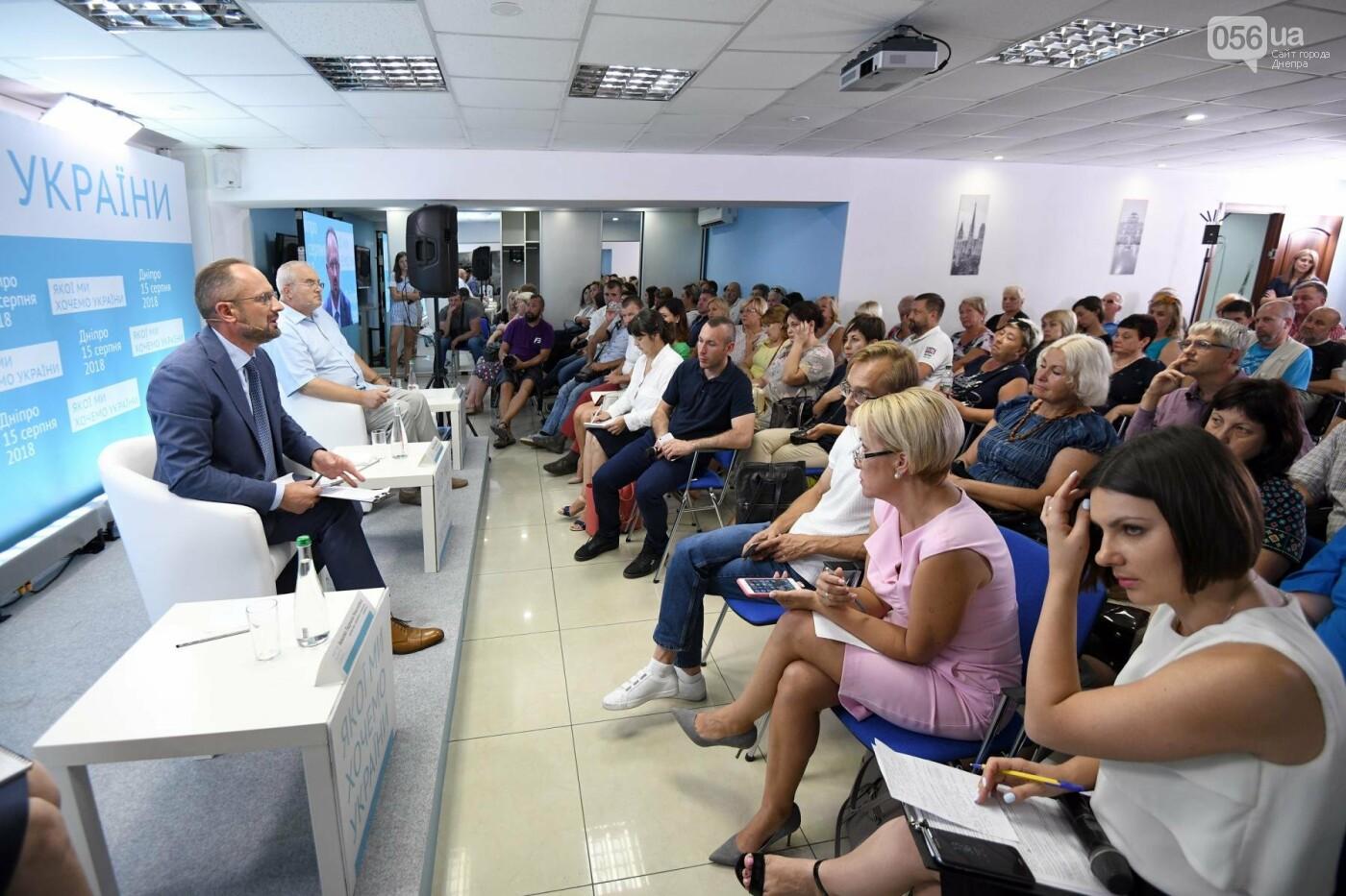 Роман Бессмертный провел встречу в Днепре и рассказал, как нужно возвращать Донбасс, - ФОТО, фото-1