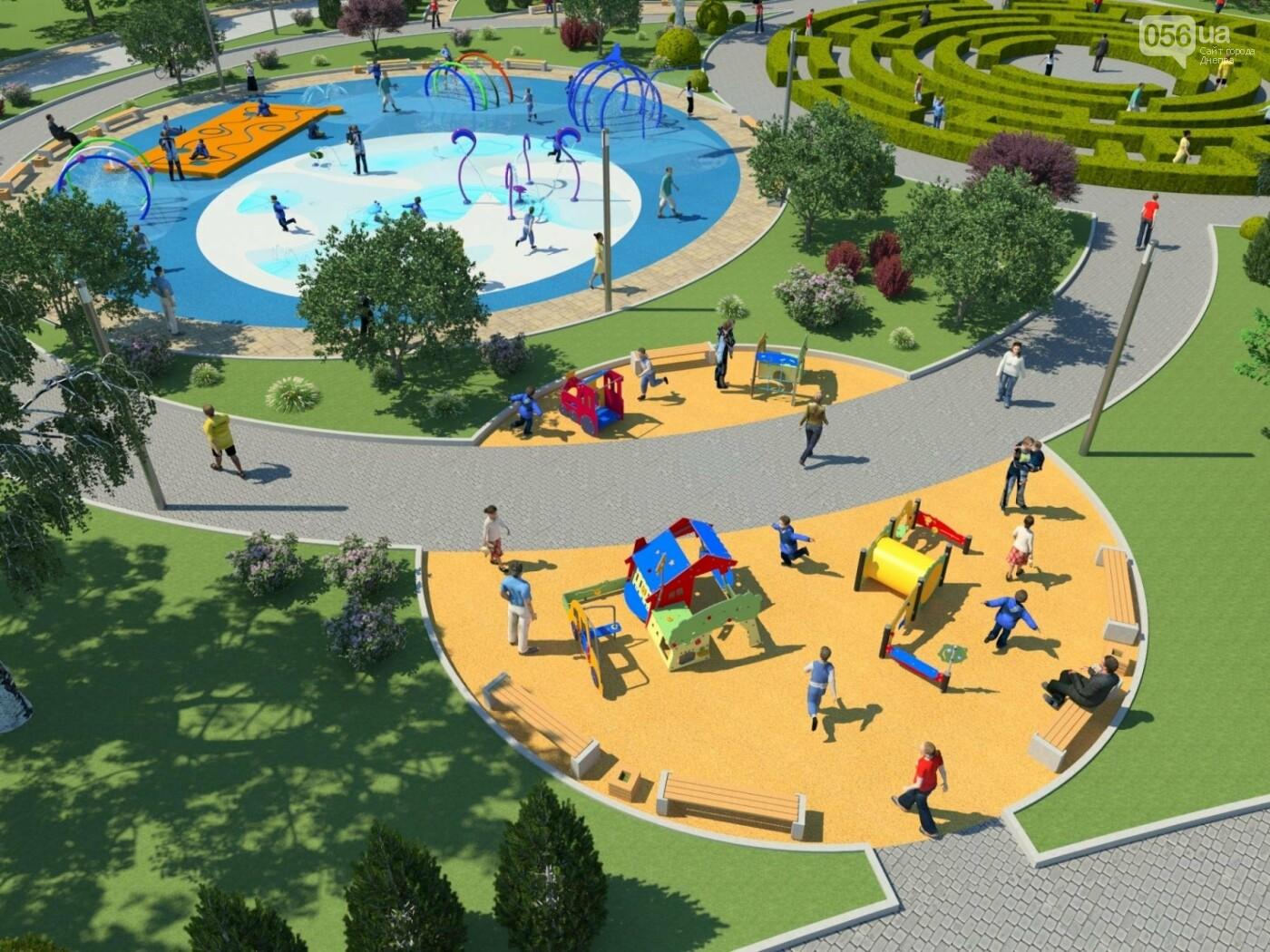 Новый парк в Днепре: какой будет Набережная Победы после реконструкции, фото-6